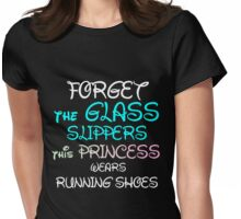 GLASS SLIPPERS Womens Fitted T-Shirt