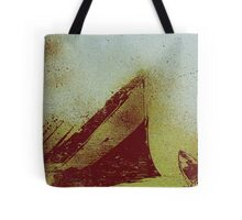 we almost reached the shore Tote Bag