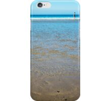 beach in county kerry ireland with wading woman iPhone Case/Skin