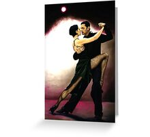 The Temptation of Tango Greeting Card