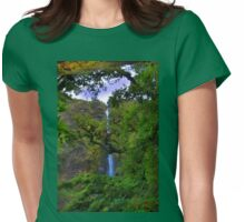 El Chorros Waterfalls of Giron XII Womens Fitted T-Shirt