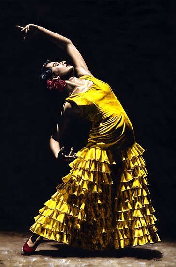 Un Momento Intenso del Flamenco by Richard Young