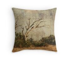 Vulture Trees Throw Pillow