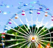 Ferris Wheel Sticker
