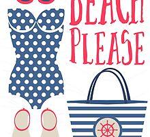 Beach Please Fashion Set by junkydotcom