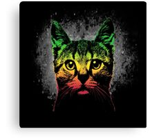 Reggae Cat Canvas Print