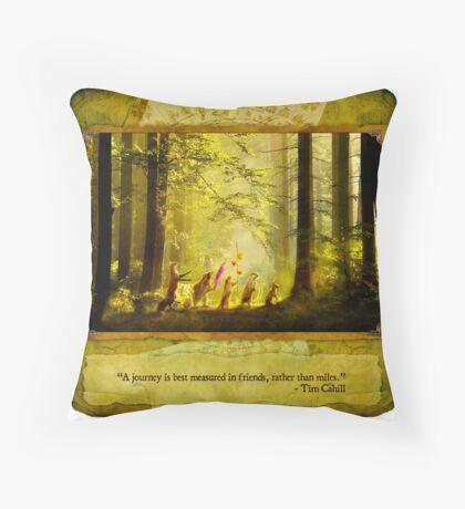 2010 Foxfires Calendar - August Throw Pillow