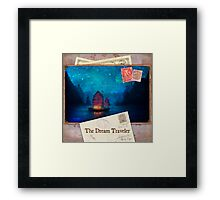 The Dream Traveler Foxfires Calendar - Cover Framed Print