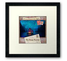 The Dream Traveler Foxfires Calendar - Cover Framed Print