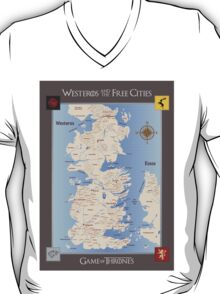 Game of Thrones Map T-Shirt