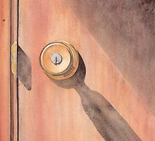 Knob and Shadow by Ken Powers