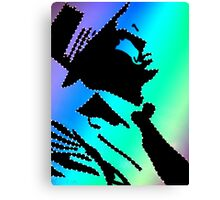 Sinatra under the rainbow Canvas Print