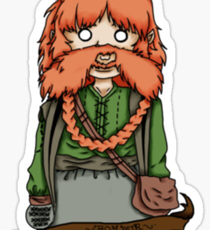 Bombur Sticker