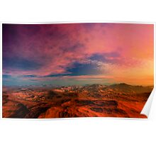 Death Valley Sunset Poster