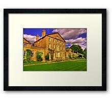 Sutton Park Hall (Rear) Framed Print