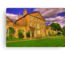Sutton Park Hall (Rear) Canvas Print