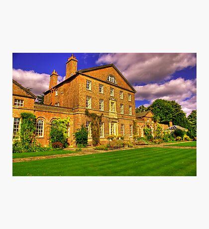Sutton Park Hall (Rear) Photographic Print