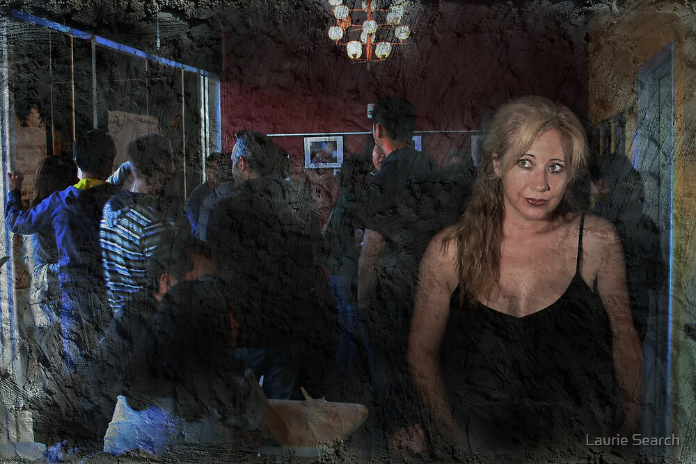 Alone In A Crowded Room by Laurie Search
