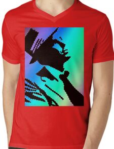 Sinatra under the rainbow Mens V-Neck T-Shirt