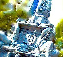 Cherub Statue NYC by apclemens
