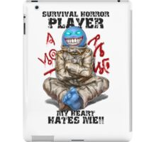 Gamer - Survival Horror Genre iPad Case/Skin