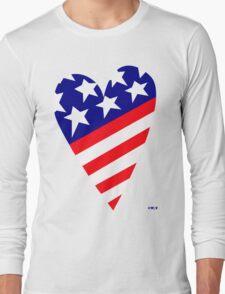 AMERICA'S CARING HEART Long Sleeve T-Shirt