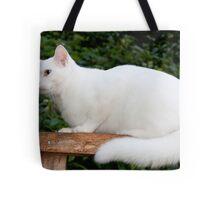 Casper Maxwell Snow Tote Bag
