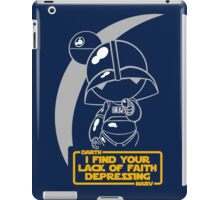 Star Wars and Marvin Hitchhiker's Guide iPad Case/Skin