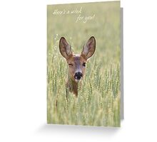 Here's a wink for you Greeting Card