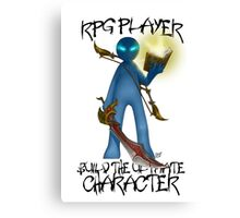 Gamer - RPG Genre Canvas Print