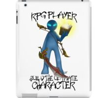 Gamer - RPG Genre iPad Case/Skin