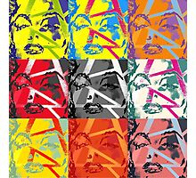 Many faces of Marilyn Monroe Photographic Print