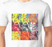 Many faces of Marilyn Monroe Unisex T-Shirt