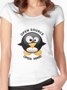 Open Source Open Mind Women's Fitted Scoop T-Shirt