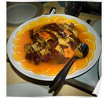 Roast Peking Duck with Orange Sauce Poster