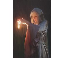 The Elven Mage Photographic Print