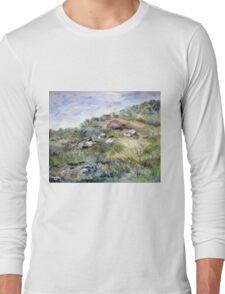 Along the coastline Long Sleeve T-Shirt