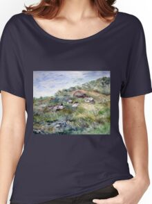 Along the coastline Women's Relaxed Fit T-Shirt