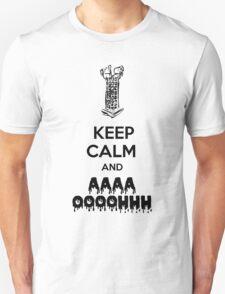 Keep Calm Micolash - Black  T-Shirt