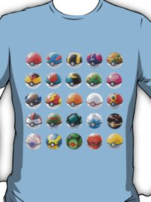 All those pokeball  T-Shirt