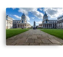 Old Royal Naval College, Greenwich, London Canvas Print