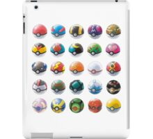 All those pokeball  iPad Case/Skin
