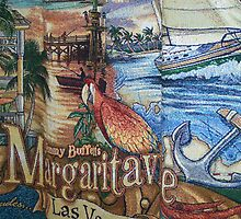 Margaritaville Tapestry. by Debbie Meyers