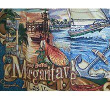 Margaritaville Tapestry. Photographic Print