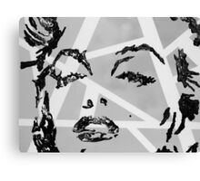 Marilyn Monroe in gray Canvas Print