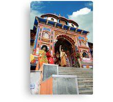 BADRINATH (The Abode Of Lord Vishnu ) Canvas Print
