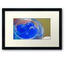 water ball Framed Print
