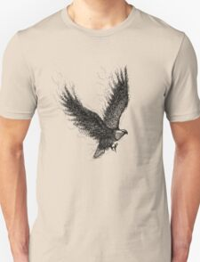 Eagle Curl Abstract Unisex T-Shirt