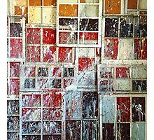 Painted Urban Windows Photographic Print