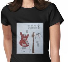Pieces 2 Womens Fitted T-Shirt